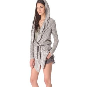 Free People For Keeps Hooded Knit Cardigan